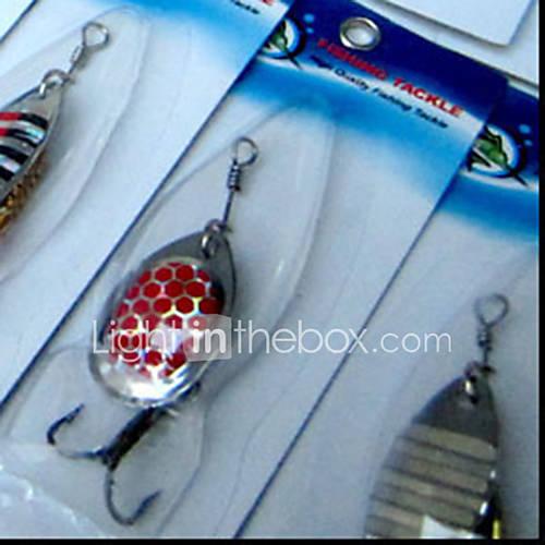 """30 pcs Spoons Fishing Tools Fishing Lures Lure Packs phantom g/Ounce35 mm/1-3/8"""" inchMetal Bait Casting"""