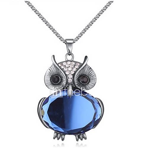 Women's Choker Necklaces Pendant Necklaces Chain Necklaces Imitation Diamond Animal Shape Rhinestone Glass AlloyBasic Animal Design