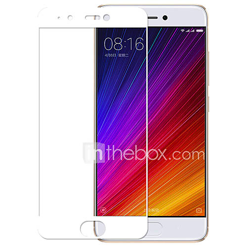 For Millet 5s Ximalong Full Screen Covered Tempered Glass Film Phone Protective Film White