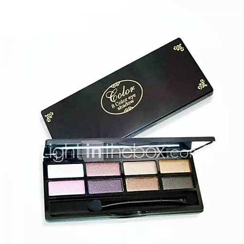 1Pc Natural Eye Makeup Eight Colors Eye Shadow Earth Color Eyeshadow Matte Eye Shadow Palette Make Up Glitter Eyeshadow