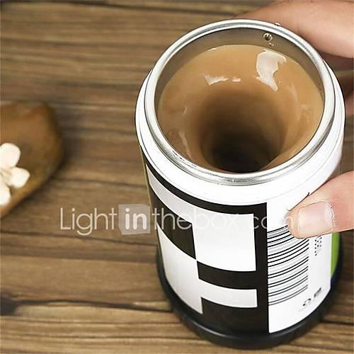 1Pcs  Film Shaped  Self  Stirring Coffee  Mugs Double Insulated Coffee Mug 400 Ml Automatic Electric Coffee Cups Smart Mugs Mixing Coffee Cup