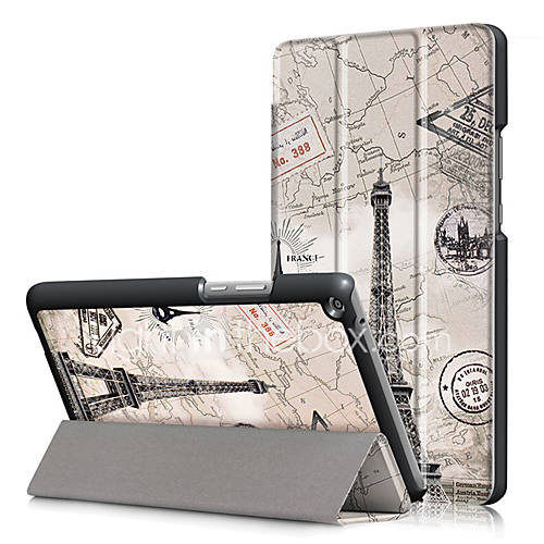 PU Case Cover for Huawei Mediapad T3 8.0 KOB-L09 KOB-W09 8 with Screen Protector