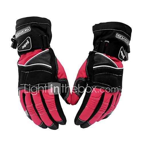 Scoyco MC15 Motorcycle Gloves Winter Warm Waterproof Windproof Sports Racing gloves Moto Protective Gear 4611