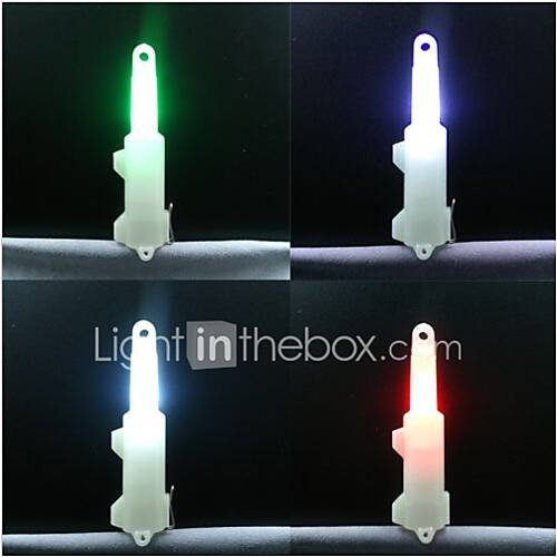 4x LED Drop Underwater Noctilucent Fishing Flashing Light Bait Lure Squid Strobe