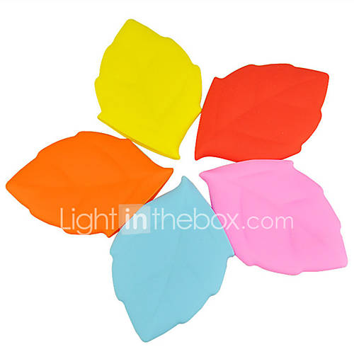 Silicone Creative Maple Leaf Wash Cups Portable Drinking Cups Travel Outdoors Drinking Water Folding Cups
