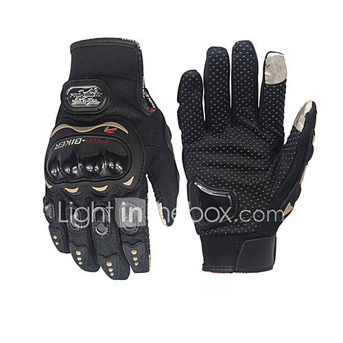 Motorcycle Pro-Biker Glove Cycling Bicycle Racing Gloves Motorcycle Full Finger Non-Slip gloves