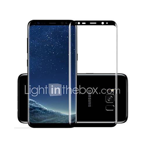 MOCOLL For Samsung S8 Plus Hot Curved Surface Full Screen Full Coverage Anti Scratch Explosion-Proof High-Definition Tempered Glass screen protector