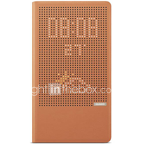 For Huawei P8 Max Case Cover with Stand Flip Auto Sleep/Wake Up Full Body Case Solid Color Hard PU Leather