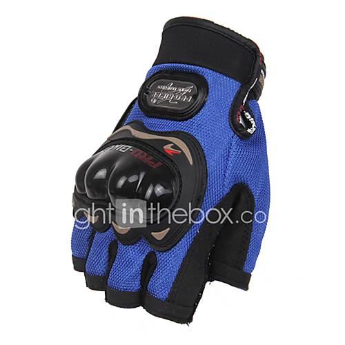 Sports Gloves Unisex Cycling Gloves Bike Gloves Protective Anti-skidding Fingerless Gloves Leather Cycling Gloves/Bike Gloves