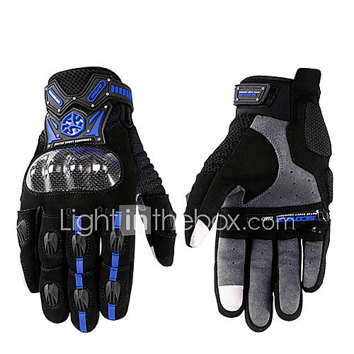 Scoyco MC20 Guantes Motorcycle Scooter Touch Gloves Summer Carbon Fiber Protective Racing Gears Silicone 4611