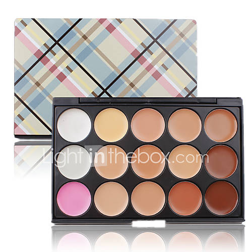 Contour Palette Face Cream 15 Colors Cosmetic Makeup Concealer Palette Women Professional Maquiagem Salon Party Set
