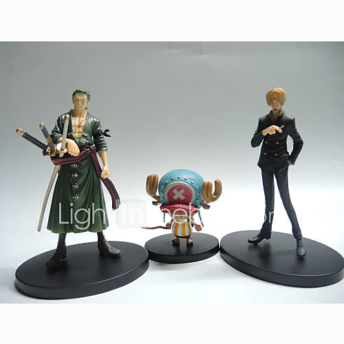 Anime Action Figures Inspired by One Piece Tony Tony Chopper PVC 26 CM Model Toys Doll Toy 1set