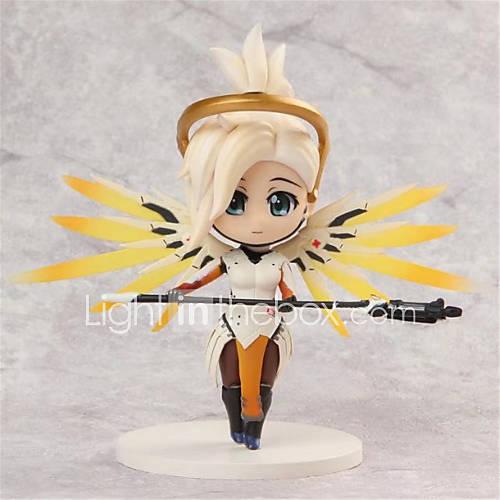 Anime Action Figures Inspired by Overwatch Cosplay PVC 10 CM Model Toys Doll Toy 1pc