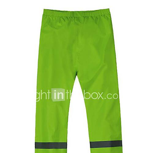 Motorcycle Raincoat Suit / Snow Grams Of Fabric Breathable / Waterproof Fluorescent Green AR803 3204
