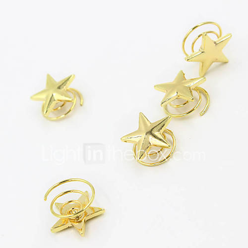 Europe and the United States foreign trade jewelry contracted van Stars spring women's joker hairpin hair A0032 6036446