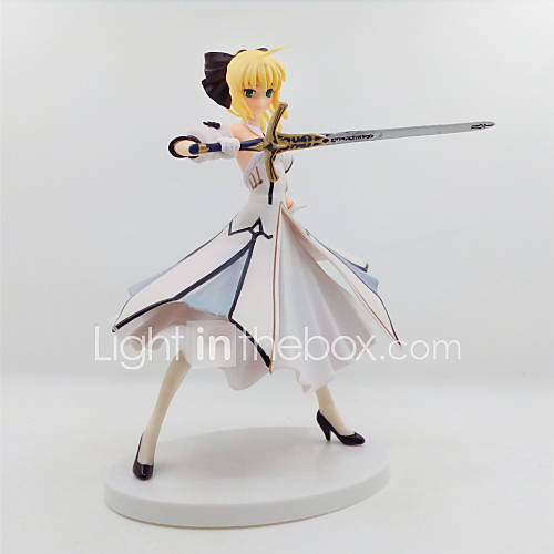Anime Action Figures Inspired by Fate/stay night Saber Lily PVC 18 CM Model Toys Doll Toy 1pc