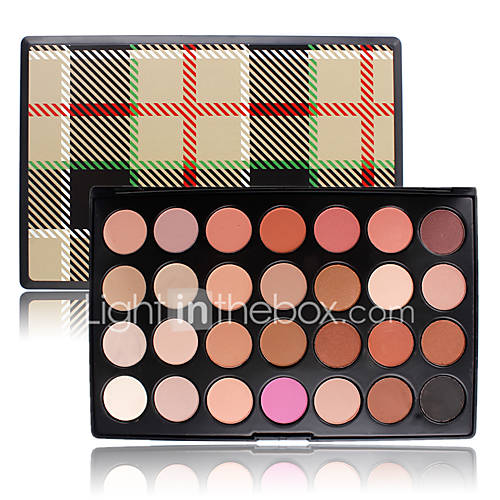 Warm Professional Eyeshadow Tone Earth 28 Color Smoky Shadow Palette Makeup Cosmetic Nude Eye Matte Powder Natrual Set Kit