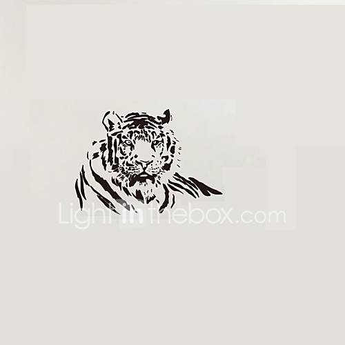 Vinyl Tiger Wall Stickers Animals Tiger Wall Decals Home Decor For Kids Room Decoration Sticker Living Room