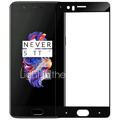 ASLING Screen Protector For OnePlus 5 Tempered Glass 9H Hardness 2.5D Curved Edge Explosion Proof Full Cover Screen Protector