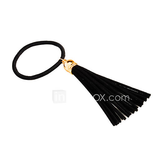 Europe and the United States foreign trade hair accessories Contracted fashion Joker street snap tassel hair bands of wool hair rope A0058