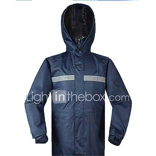 Motorcycle Riding Raincoats Adult Men And Women Fashion Outdoor Raincoat Rain Trousers Set To Increase The Thickened