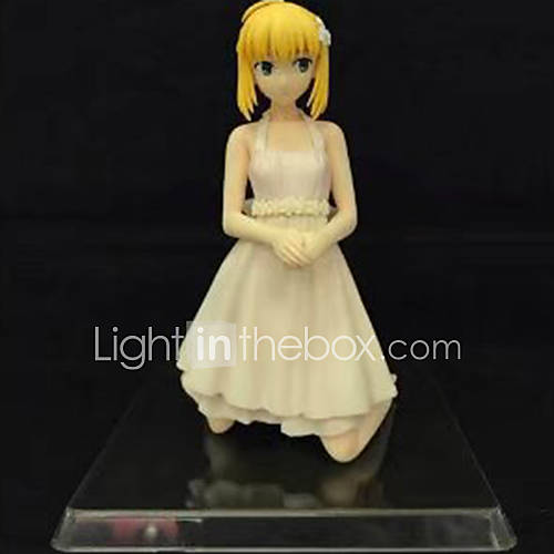 Anime Action Figures Inspired by Fate/Zero Saber PVC 16 CM Model Toys Doll Toy 1pc