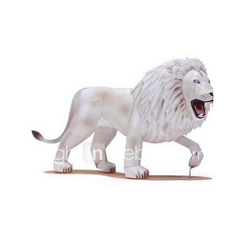Jigsaw Puzzles DIY KIT 3D Puzzles Building Blocks DIY Toys Lion Animal