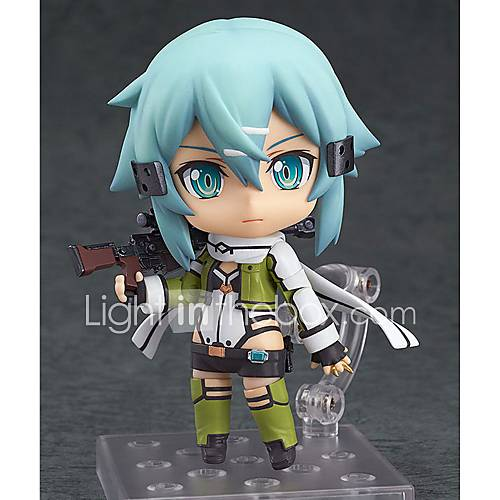 Anime Action Figures Inspired by Sword Art Online Cosplay PVC 10 CM Model Toys Doll Toy 1pc