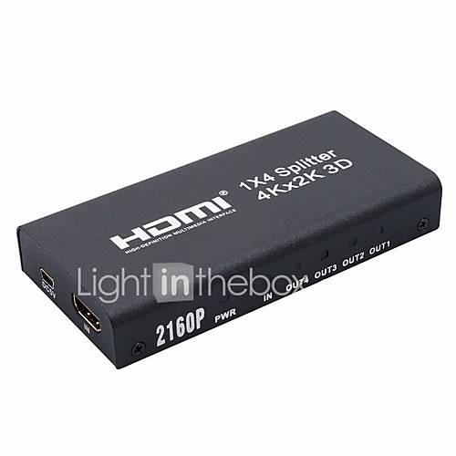 HDMI 1.4 Splitter HDMI 1.4 to HDMI 1.4 Splitter Female - Female 4K2K Gold-plated copper 10 Gbps
