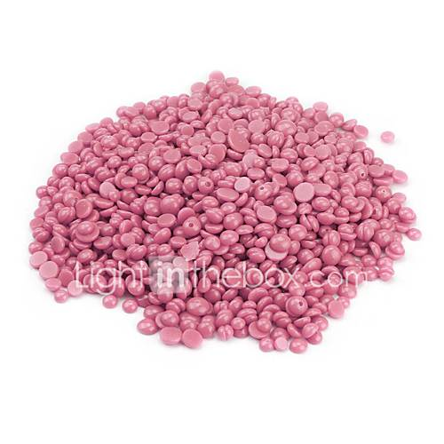 50g No Strip Depilatory Hot Film Hard Wax Pellet Waxing Bikini Hair Removal Bean Hair Removal Bean Rose Flavor