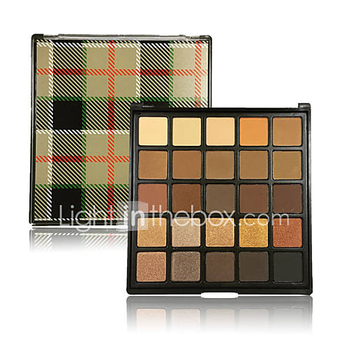Cosmetic Shadows Highly Pigmented Ultra Shimmer Studio Eyeshadow 25 Colors Smokey Eyes Brick Make UP Glitter Matte Nudes Warm Natural Pro