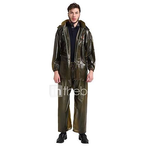 Motorcycle South Asia Fashion Ride Electric Car Adult Men And Women Split Thick Raincoat Rain Pants Suit