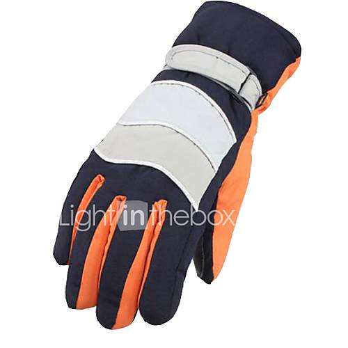 Motorcycle Gloves Men And Women Riding Winter Electric Car Gloves Thickening Warm Couple
