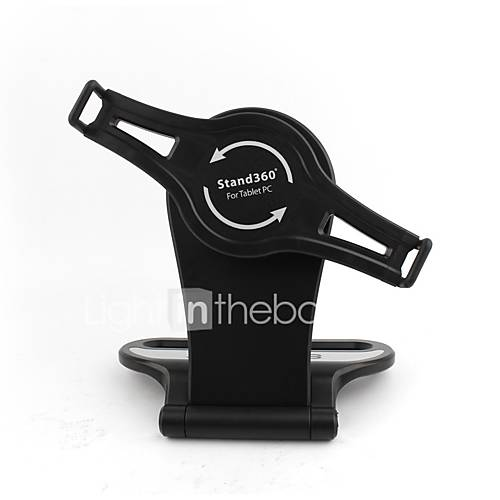 Phone Holder Stand Mount Car 360° Rotation ABS for Tablet iPad Mounts  Holders