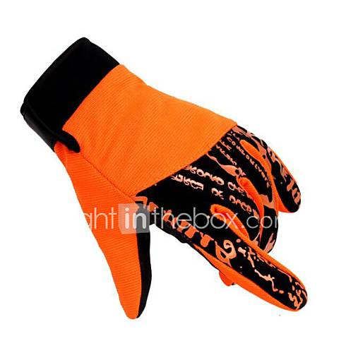 Motorcycle Gloves Autumn And Winter Warm All Refers To The Cashmere Gloves Outdoor Warm Wear Non - Slip Finger Gloves