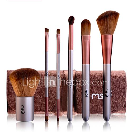 1set Makeup Brush Set Synthetic Hair Easy to Use Easy Carrying Easy to Carry Wood Men Men and Women Eye Nursing Face Eyebrow EyeShadow