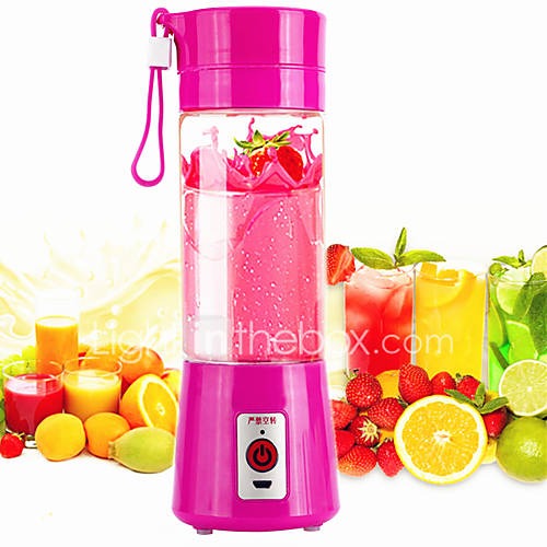 USB Electric Fruit Juicer Cup Bottle Vegetable Juice Extractor Squeezer Milkshake Smoothie Maker Blender