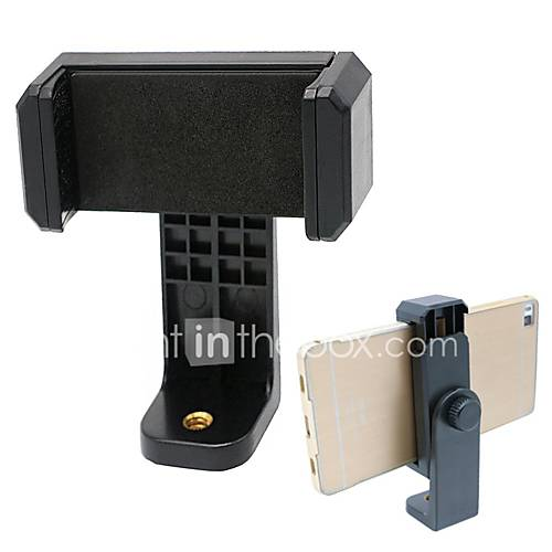 Universal Cell Phone Tripod Mount Adapter Smartphone Holder Mount Clip for iPhone and Samsung Galaxy