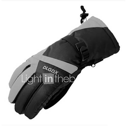 Motorcycle Riding Gloves Warm Men And Women Winter Outdoor Thickening Electric Car Motorcycle Riding
