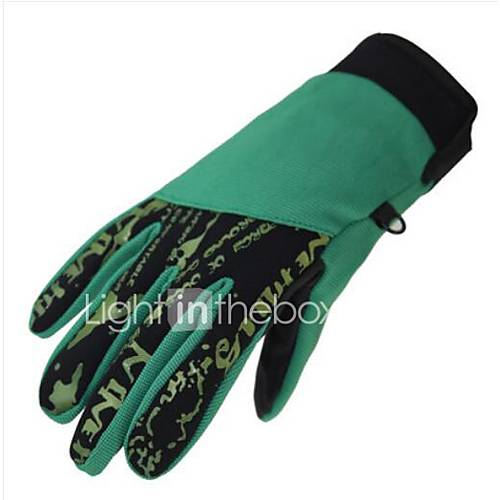 Motorcycle Gloves Winter Warm Thick Windproof Waterproof Men And Women Outdoor