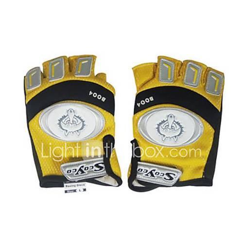 ADLO QSST02 Motorcycle Knight Gloves Racing Half Finger