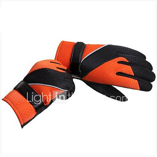 Motorcycle Gloves Male Winter Sports Gloves Plus Velvet Gloves Thick Winter Outdoor Ride