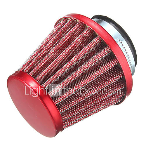 44MM Modified Air Filter For Off Road Motorcycle Dirt Pit Bike ATV 140 150 200 250cc
