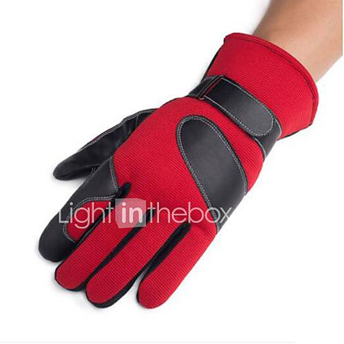 Motorcycle Gloves Winter Warm Plus Cashmere Thickening Touch Screen Non - Slip Windproof Motorcycle Gloves Cotton