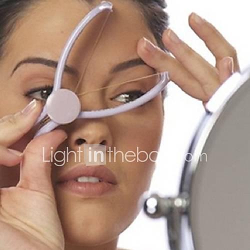 Plastic Women Hair Facial Body Removal Threading Threader Epilator