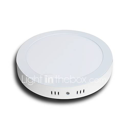 LED Surfuce Mounted Round Panel Lights 18W Warm White Cool White 3000/6000K 120W Equivalent