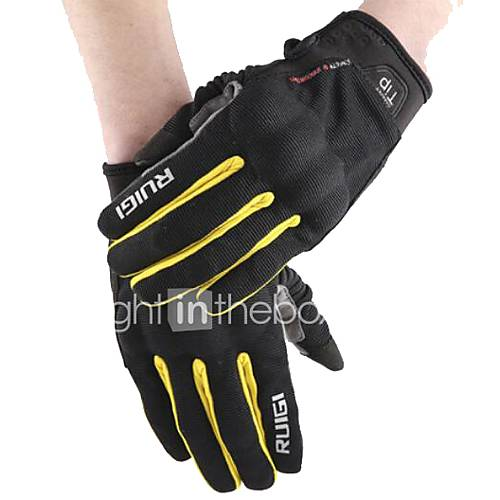 RUIGI R02 Motorcycle Riding Gloves Spring And Summer Thin Section Breathable Wrestling Touch Screen Knight Racing Gloves Men And Women