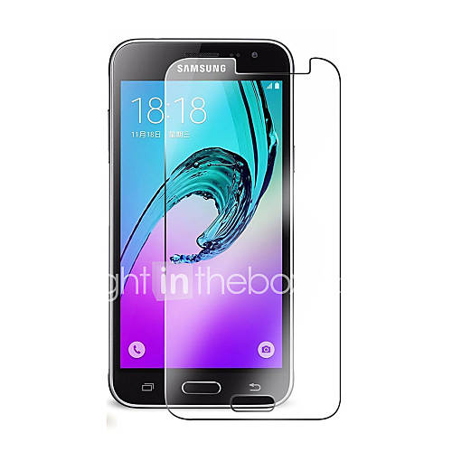 Screen Protector Samsung Galaxy for J3 (2016) Tempered Glass 1 pc Front Screen Protector 2.5D Curved edge 9H Hardness High Definition (HD)