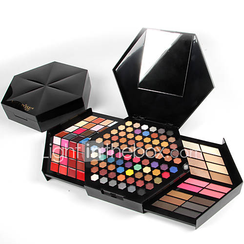NEW 130-Colour Makeup Kit with Mirror Concealer Blush Highlighter Face Powder Eyeshadow Eyebrow Powder Creamy Lipstick Makeup Collection