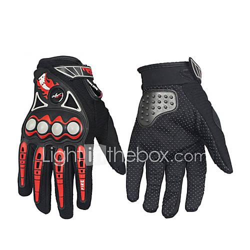 Full Finger Unisex Motorcycle Gloves Carbon Fiber Keep Warm Waterproof Breathable